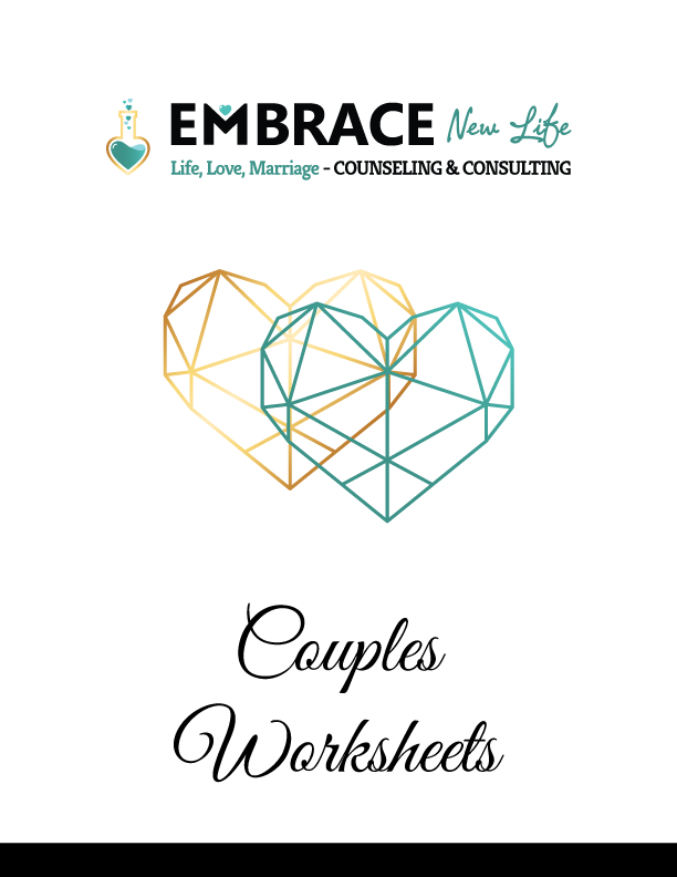 Couples Counseling Worksheets